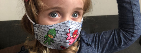 How to get your toddler to wear a mask