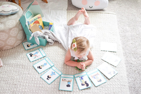 using flashcards to help control tantrums