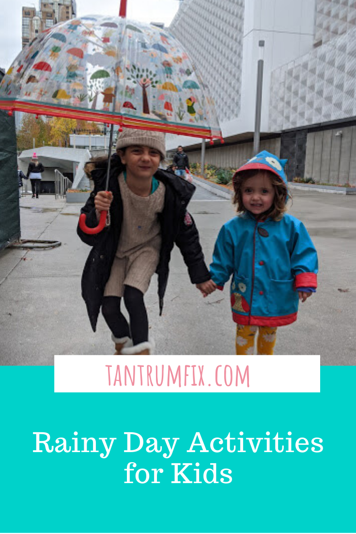 rainy day activities with kids