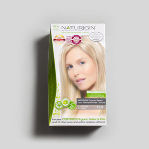 NATURIGIN natural hair dye – Platinum Blonde 10.0