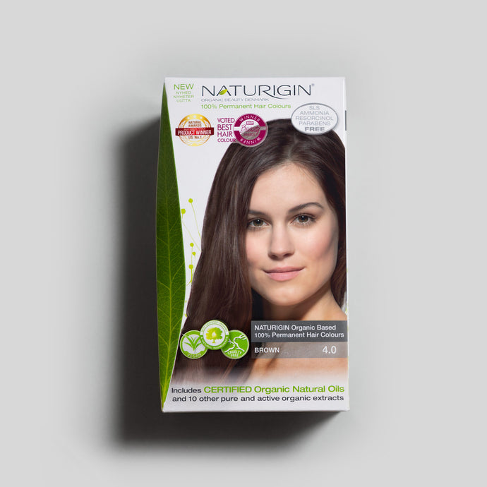 NATURIGIN natural hair dye – Brown 4.0