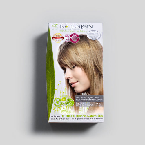 NATURIGIN natural hair dye – Natural Medium Blonde 7.0