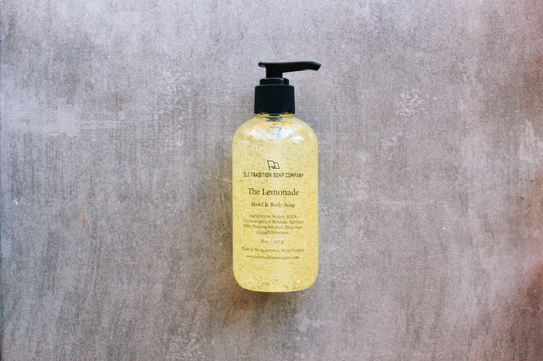 The Lemonade Hand & Body Wash - Ole Tradition Soap Co.