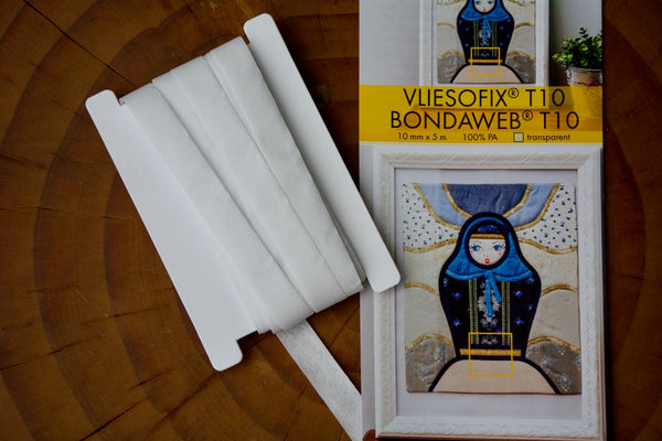 Vliesofix Bondaweb Glue Backed Tape T10