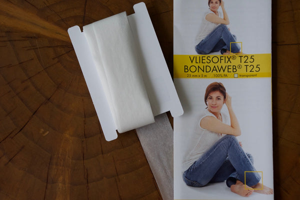 Vliesofix Bondaweb Glue Backed Tape T25