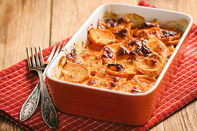 Holidays on the Grill - Chef Luis's Sweet Potato Casserole Recipe