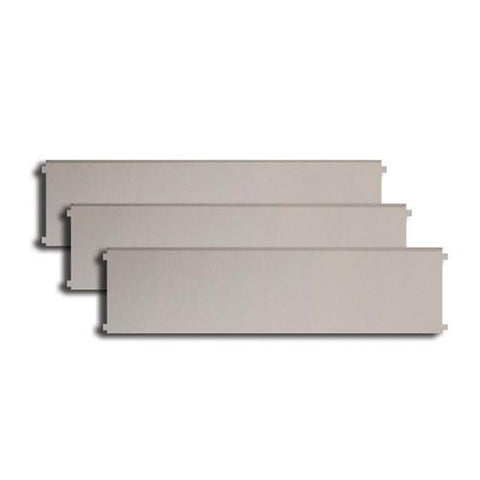 Perlick HP and HC Stainless Steel Drawer Dividers (3/pk)