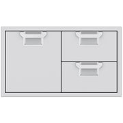 "Hestan Aspire 36"" Double Drawer and Door Storage Center"