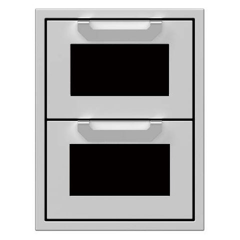"Hestan 16"" Double Drawers"