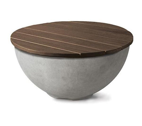 LOC Firebowl Wood Top Cover