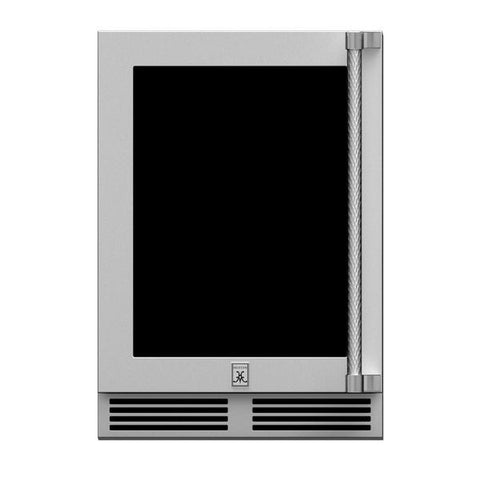 "Hestan 24"" Outdoor Dual Zone Wine and Refrigerator"