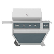 "Hestan 42"" Deluxe Grill with Double Side Burner"