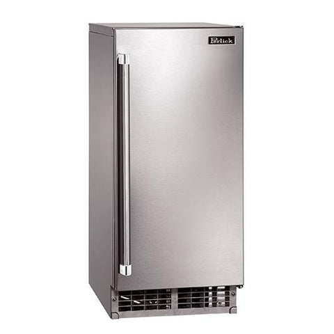 "Perlick 15"" Indoor/Outdoor Ice Maker"