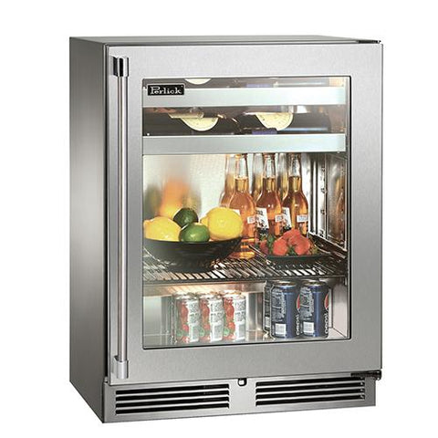 "Perlick 24"" Outdoor Shallow Depth Beverage Center"