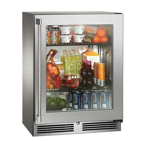 "Perlick 24"" Indoor Shallow Depth Refrigerator"