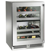 "Perlick 24"" Indoor Signature Series Dual-Zone Wine Reserve"