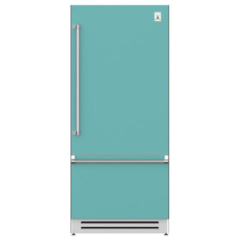 "Hestan 36"" Bottom Compressor Bottom Mount Refrigerator"