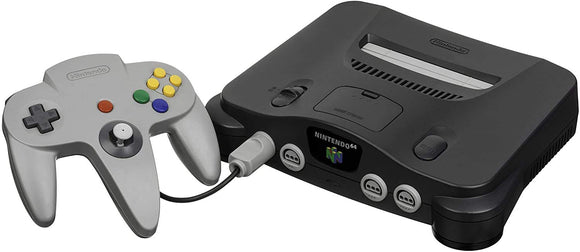 Nintendo 64 N64 Console System with One Controller