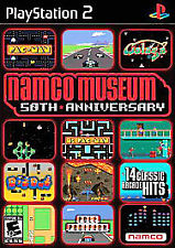 Namco Museum 50th Anniversary - PS2 Game Complete