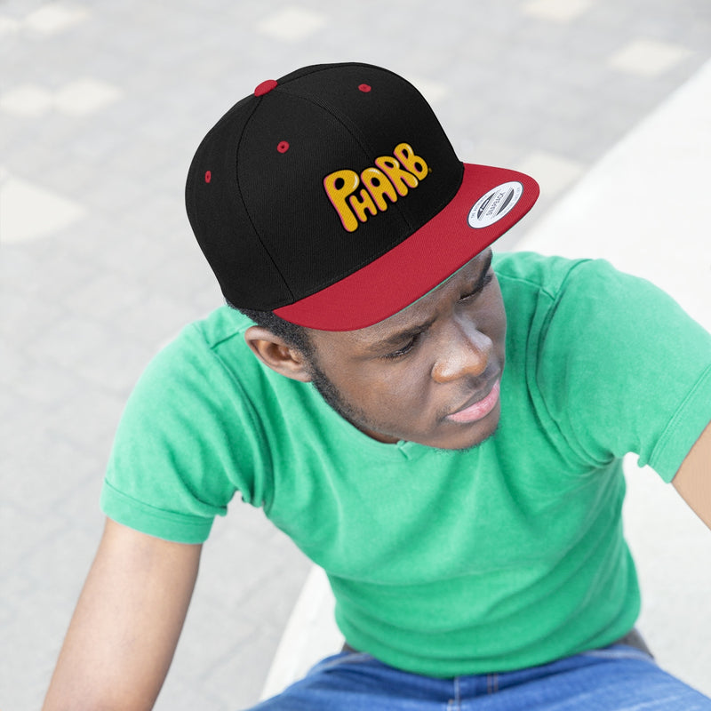 Pharb Freaking Rad Unisex Flat Bill Hat