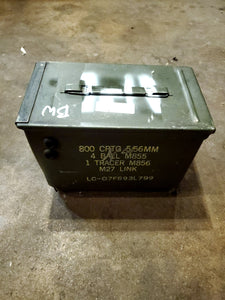Fat 50 Cal Ammo Can (case for battery)