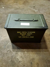 Load image into Gallery viewer, Fat 50 Cal Ammo Can (case for battery)