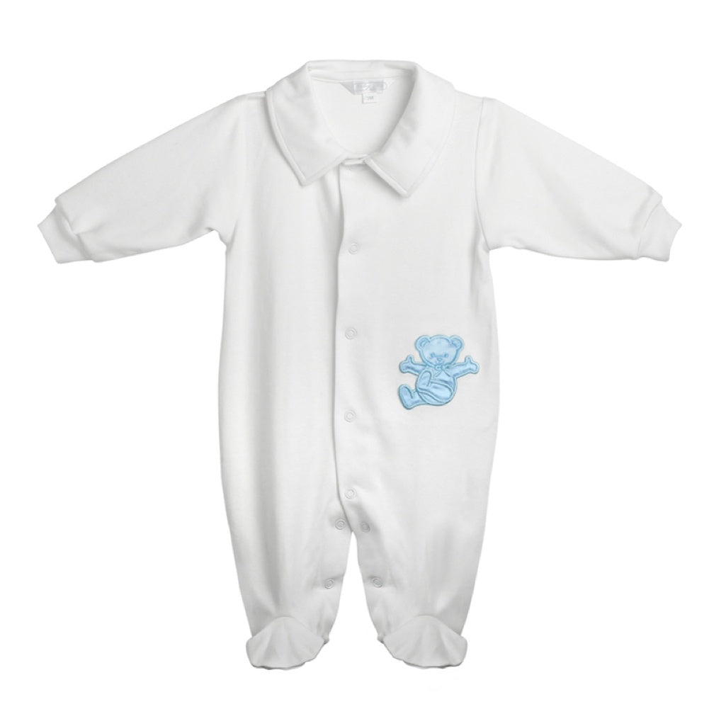 Boys Bodysuit with lazy bear
