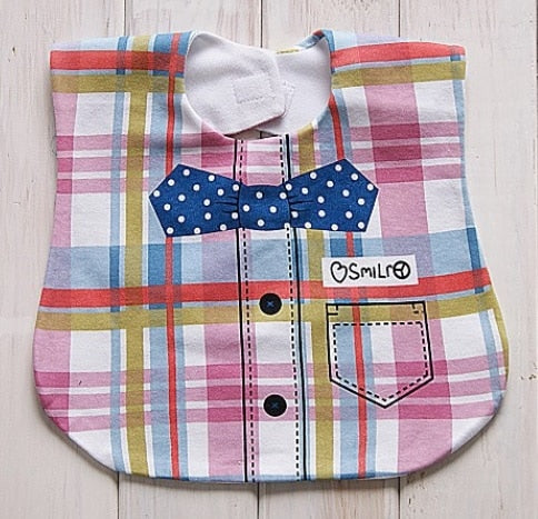 Plaid Bib