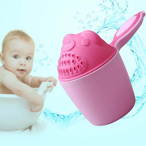 1PC New Cartoon Baby Spoon    Shampoo Cup Children Bath Accessories