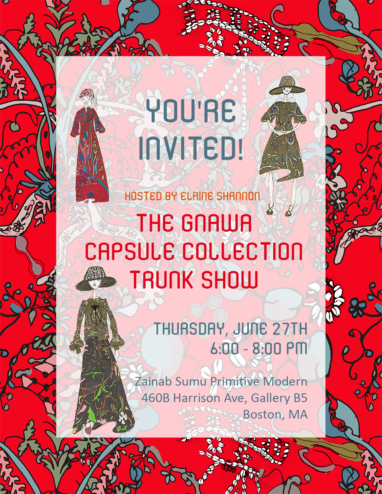 ZSPM Gnawa Capsule Collection Trunk Show