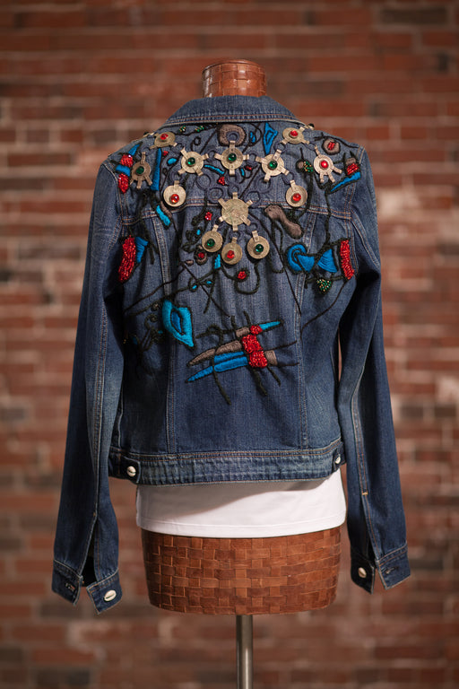 Artisanal Collection Boulilla II Denim Jacket back