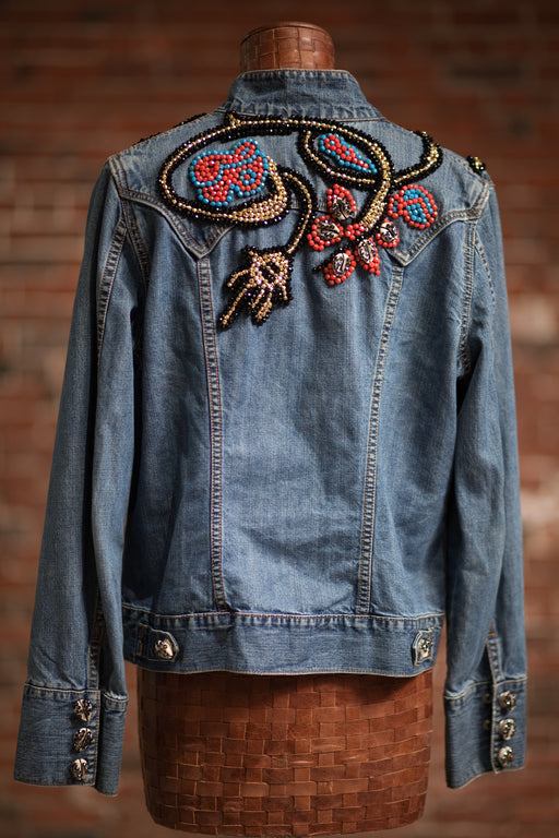 Artisanal Collection Allal II Denim Jacket back