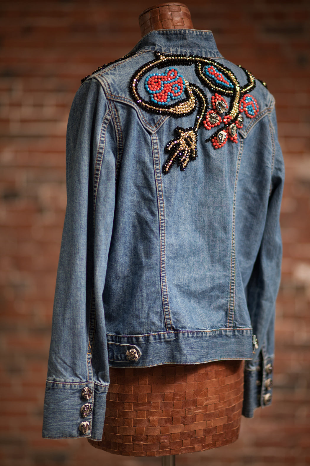 Artisanal Collection Allal II Denim Jacket back side