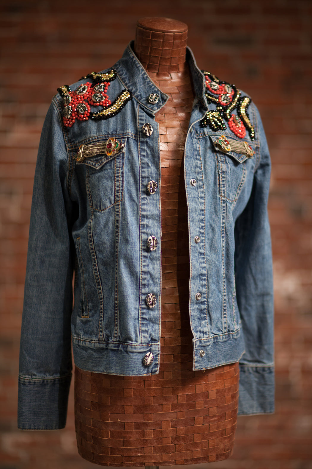 Artisanal Collection Allal II Denim Jacket front