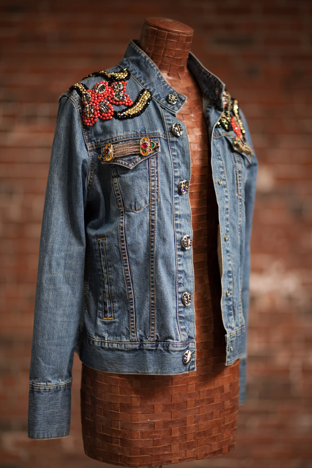 Artisanal Collection Allal II Denim Jacket front side