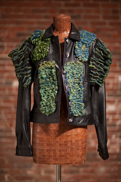 Artisanal Collection Ed Zalba Leather Jacket front