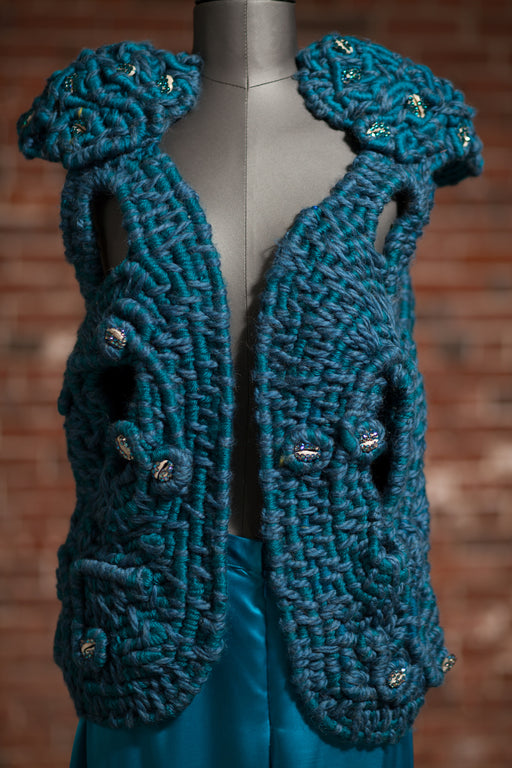 Artisanal Collection Maymouna Vest front