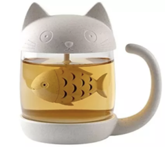 Kit-Tea Cat Tea Infuser - Critters Outfitters