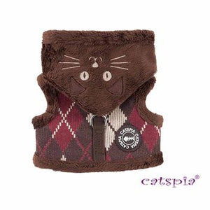 Bandit Cat Harness Jacket - Brown - Critters Outfitters