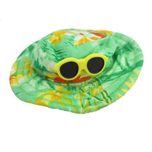 Hawaiian Dog Hat - Green - Critters Outfitters