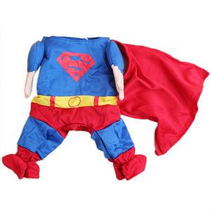 Superman Dog Costume - Critters Outfitters