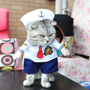 Sailor Cat Costume - Critters Outfitters