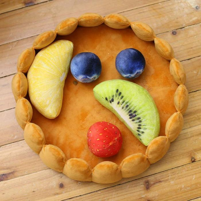 Fruit Tart Cat Bed - Critters Outfitters