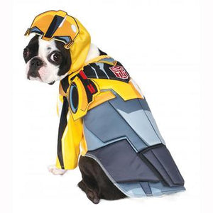Transformers Deluxe Bumble Bee Halloween Dog Costume - Critters Outfitters