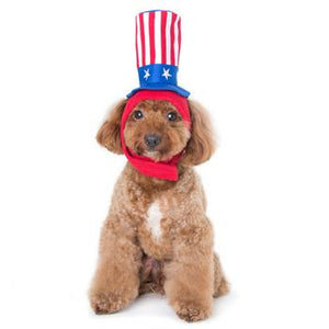Uncle Sam Dog Hat - Critters Outfitters