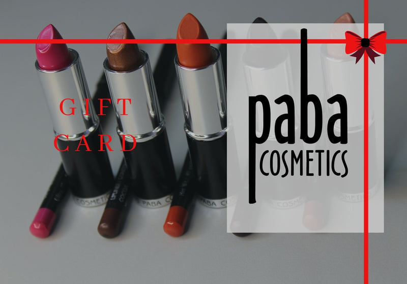 Paba Cosmetics Gift Card