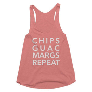 chips salsa margs repeat tank