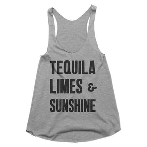 tequila limes & sunshine tank