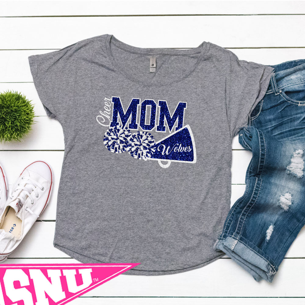 cheer mom (pick design colors and mascot)