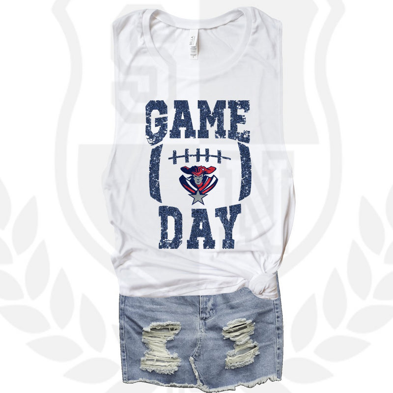 ala patriots game day muscle tank